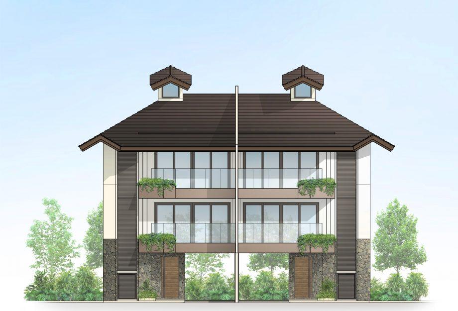 3-Storey House Elevation
