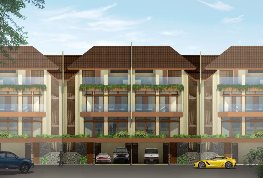 4-Storey House Elevation