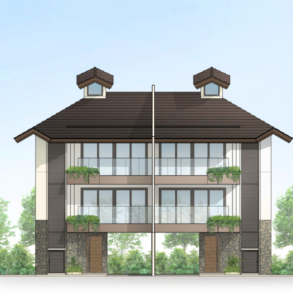 3-Storey Townhome at 232.4 sq.m (Total Floor Area)