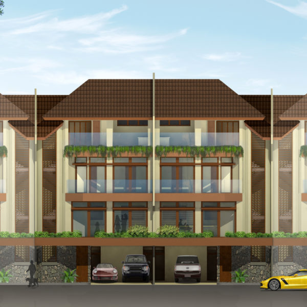 4-Storey Townhome at 323.80 sq.m (Total Floor Area)