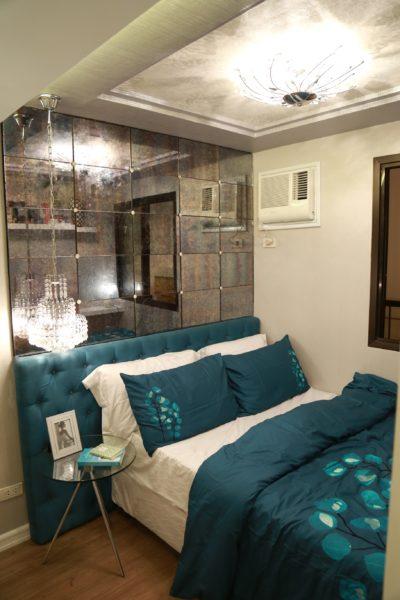 Actual Model Unit Bedroom