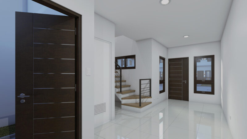 TURNOVER UNIT - LIVING AND DINING AREA